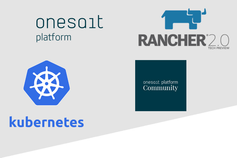 Onesait Platform, Kubernetes and Rancher 2