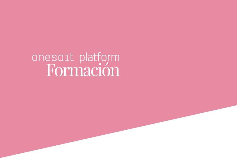 Header Onesait Platform Formación