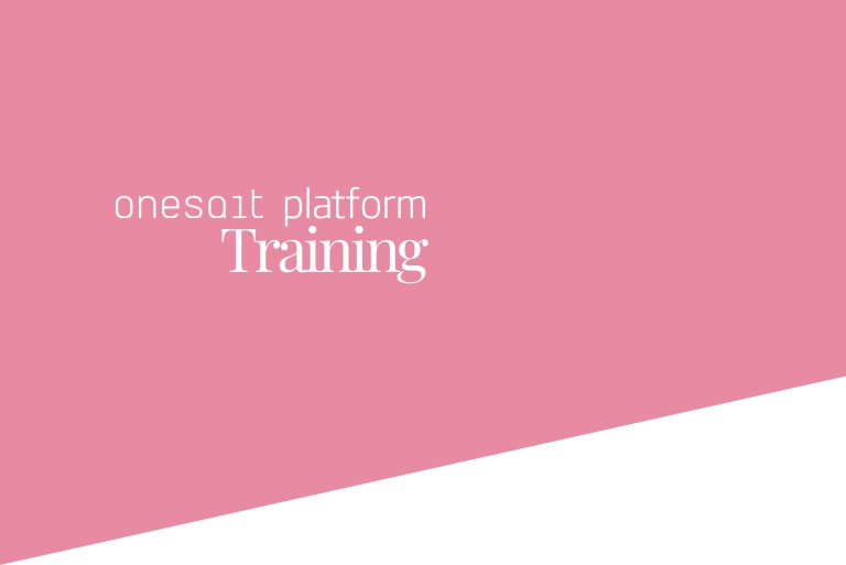 Onesait Platform online training course (part I)