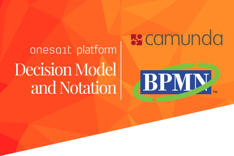 Decision Model and Notation en la Onesait Platform