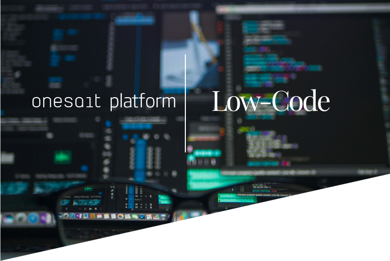 Onesait Platform as a Low Code Platform